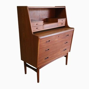 Scandinavian Secretaire by Arne Wahl Iversen for Vinde Møbelfabrik, 1960s