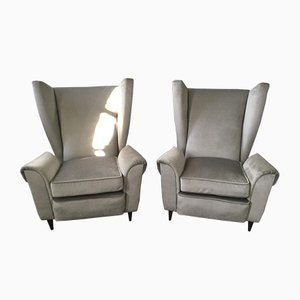 Mid-Century Armchairs by Goffredo Forti, Set of 2