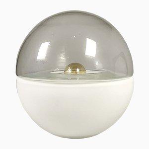 Lampe de Bureau Space Ball en Verre, 1960s
