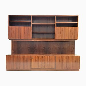 Rosewood Wall Units by Ib Koefoed-Larsen for Faarup Møbelfabrik, 1960s, Set of 3