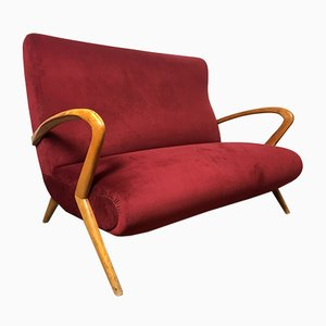 Italienisches 2-Sitzer Sofa von Paolo Buffa, 1950er