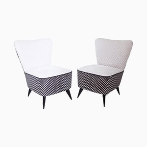 Mid-Century Italian Lounge Chairs, Set of 2