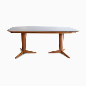 Mid-Century Italian Dining Table by Osvaldo Borsani
