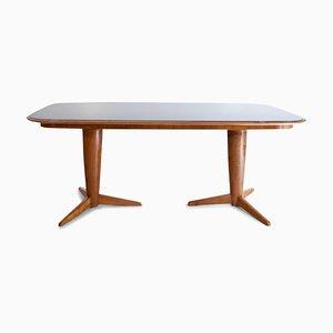 Mid-Century Italian Dining Table by Osvaldo Borsani