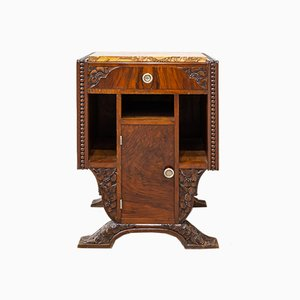 French Modernist Nightstand, 1920s