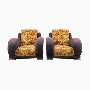 Art Deco Elephant Armchairs, 1930s, Set of 2