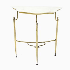 Mid-Century Italian Console Bracket Table