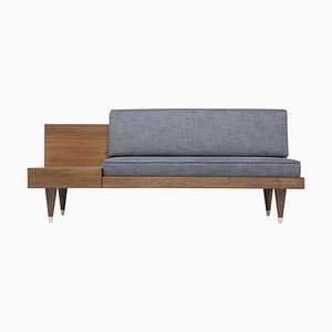 Bi Back Dark Grey Loveseat by Meghedi Simonian
