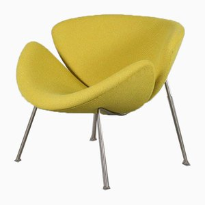 Niederländischer Mid-Century Sessel in Orange von Pierre Paulin für Artifort, 1950er