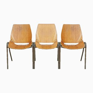 Vintage Lupina Chairs by Niko Kralj for Stol Kamnik, 1960s, Set of 3