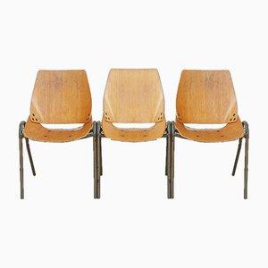 Vintage Lupina Stühle von Niko Kralj für Stol Kamnik, 1960er, 3er Set