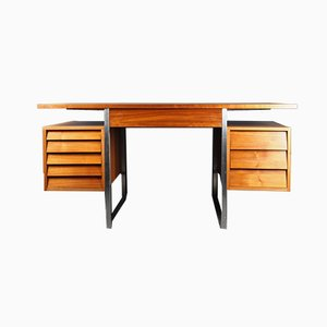 Danish Walnut Desk from Merrow Associates, 1960s