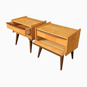 Nightstands from Oldenburger Möbelwerkstätten, 1950s, Set of 2