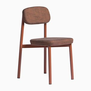 Residence Red Brick Chair by Jean Couvreur