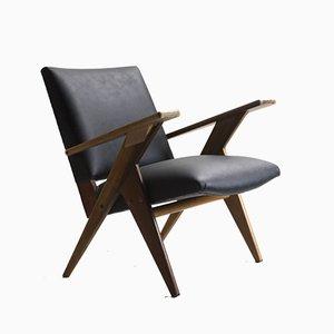Brasilianischer Mid-Century Sessel von José Zanine Caldas für Linha Z, 1950er