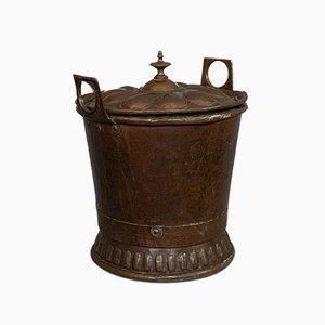 Antiker französischer Kohlekasten