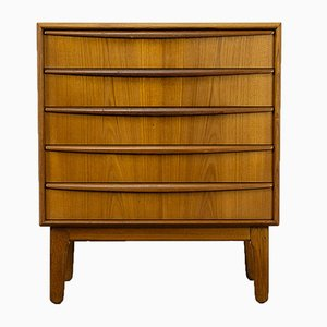Mid-Century Teak Chest of Drawers by Svend Åge Madsen for K. Knudsen & Søn, 1960s