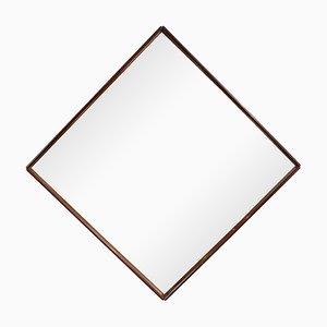 Brasilianischer Mid-Century Modern Spiegel aus Palisander, 1960er