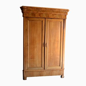 Antique French Louis Philippe Walnut Cabinet