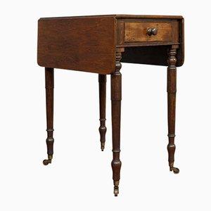 Antiker Englischer Pembroke Tisch aus Mahagoni