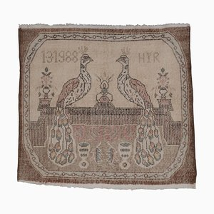 Vintage Peacock Teppich, 1970er