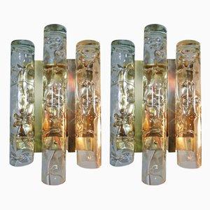 Deutsche Wandlampen von Doria Leuchten, 1960er, 2er Set