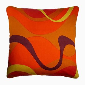 Vintage British Maypole Cushion by Janet Taylor for Heals of London, 1970s