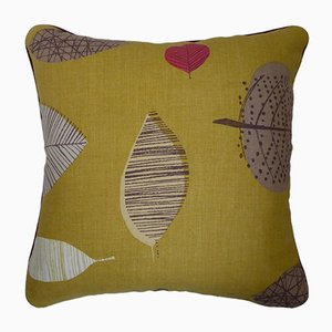 Vintage British Perry Green Cushion from Nichollette Yardley-Moore, 2000s