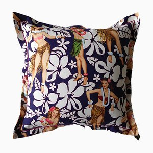 Vintage Aloha Girls Cushion from Provenance: U.S.A., 2000s