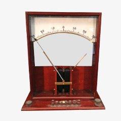 Instrumento para medir la electricidad