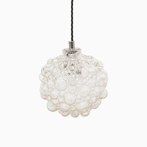 Bubble Glass Pendant Lamp by Helena Tynell, 1970s