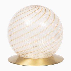 Italienische Murano Glaskugel Lampe von Massimo und Lella Vignelli für Venini