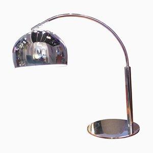 Vintage Chrome Table Lamp, 1970s