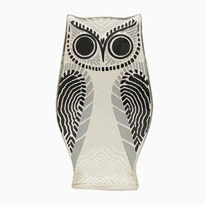 Brazilian Acrylic Owl by Abraham Palatnik, 1950s