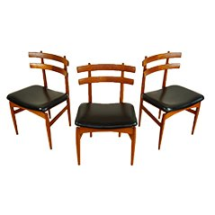 Danish Teak Occasional Chairs by Kai Kristiansen