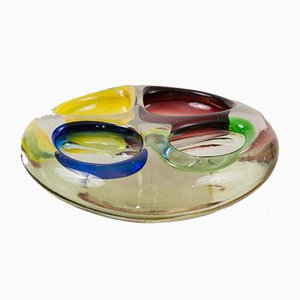 Vintage Murano Art Glass Bowl, 1960s
