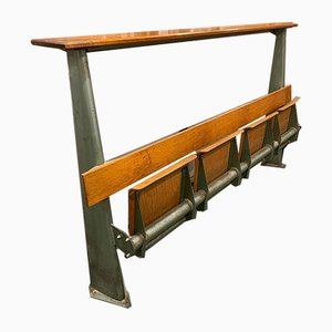French School Bench by Jean Prouvé, 1950s