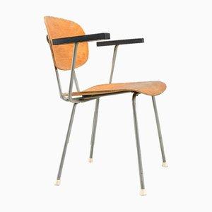 No. 216 Stuhl von Wim Rietveld für Gispen, 1950er