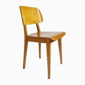 Sperrholz Stuhl von Dirk Braakman für Pastoe, 1940er