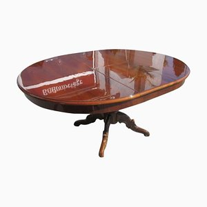 Biedermeier Style Walnut Side Table