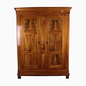Biedermeier Cherrywood and Walnut Cabinet, 1860s