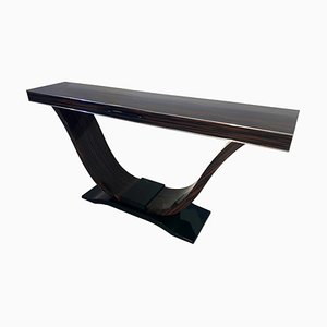 Custom Macassar Console Table