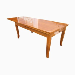 Biedermeier Style Cherrywood Dining Table