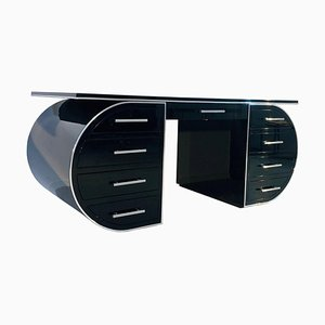 Black High Gloss Design Desk
