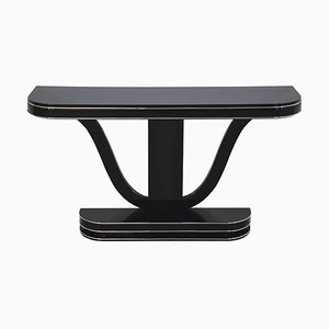 Art Deco Black Console