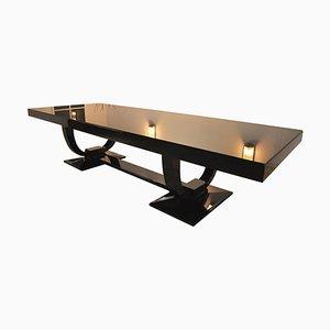 Art Deco Esstisch & Stühle Set, 13er Set