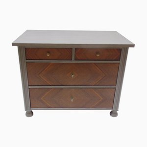 Art Deco Grey Walnut Chest of Drawers