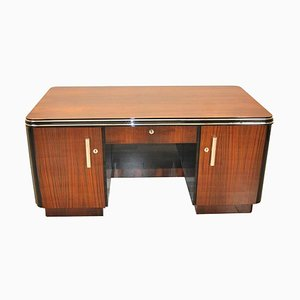 Art Deco Palisander Schreibtisch