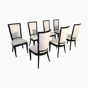 Art Deco Chairs, Set of 8