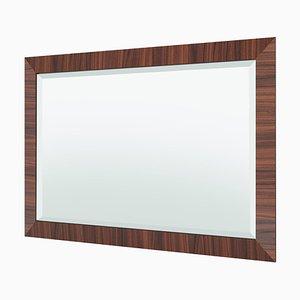 Art Deco Macassar Spiegel